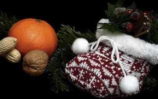 Мандарины символ нового года России