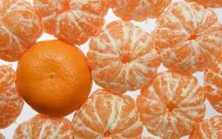 Мандарины и диета