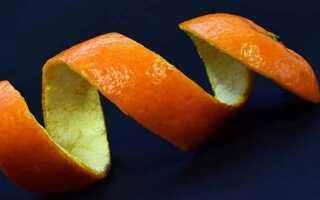 Область применения мандариновых корок