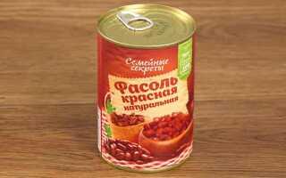 Польза консервированной фасоли