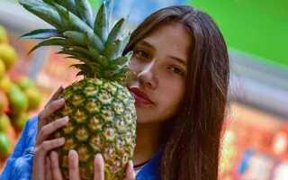 Определение спелости ананасов по внешнему виду